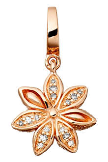 ASTLEY CLARKE Star Anise Aphrodisiac 18ct rose gold vermeil charm