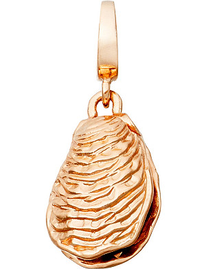 ASTLEY CLARKE Oyster Aphrodisiac 18ct rose gold charm