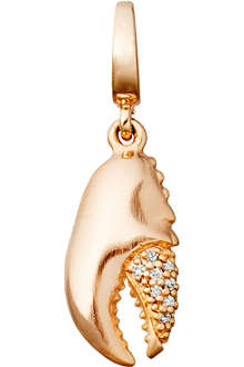 ASTLEY CLARKE Lobster Claw Aphrodisiac 18ct rose gold vermeil charm