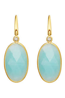 ASTLEY CLARKE Cassini amazonite earrings