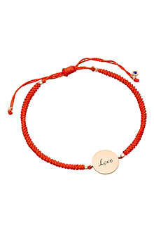 ASTLEY CLARKE Protection love disc bracelet