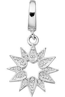 ASTLEY CLARKE Summer Lovin' sterling silver diamond charm