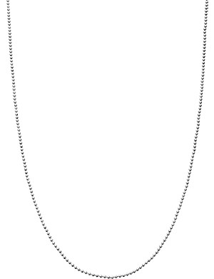 ASTLEY CLARKE Sterling silver short extendable chain