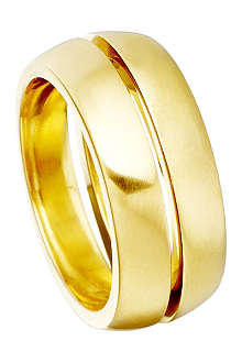 ASTLEY CLARKE Inverted 18ct gold stacking rings