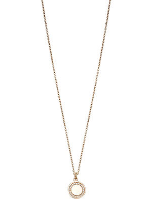 ASTLEY CLARKE Cosmos diamond and 14ct rose-gold pendant necklace