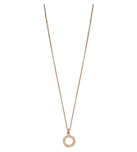 ASTLEY CLARKE Cosmos diamond and 14ct rose-gold pendant necklace (Pink