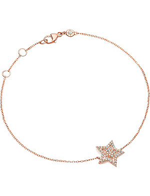 ASTLEY CLARKE Super Star 14ct rose-gold and diamond bracelet