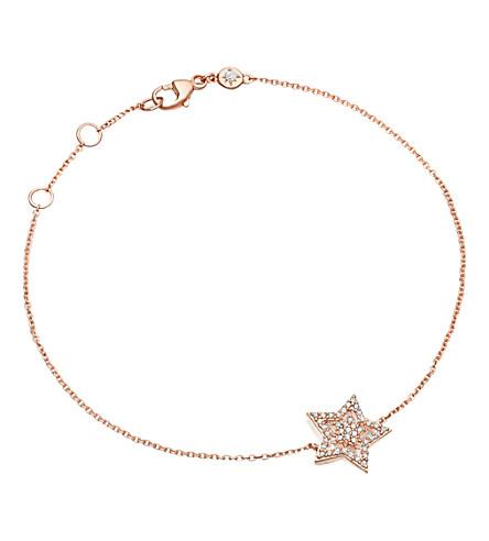 ASTLEY CLARKE Super Star 14ct rose-gold and diamond bracelet (Rose gold