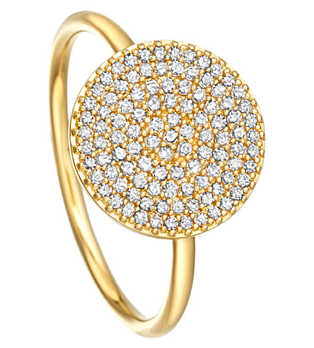 ASTLEY CLARKE Icon 14ct yellow-gold ring (Gold