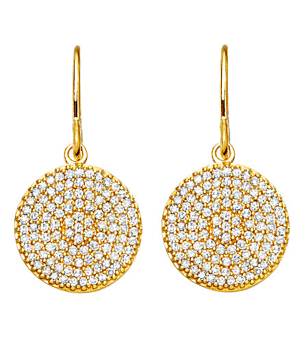 ASTLEY CLARKE Yellow Gold Icon 14ct gold earrings (Gold