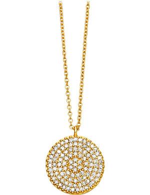 ASTLEY CLARKE Icon 14ct yellow-gold pendant