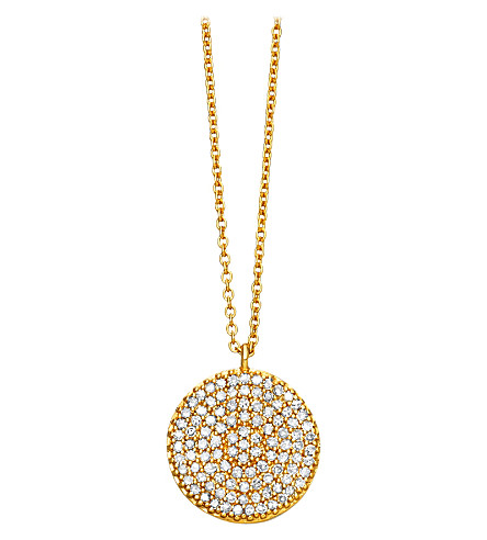 ASTLEY CLARKE Icon 14ct yellow-gold pendant (Gold