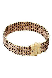 ASTLEY CLARKE Biography wide dusky stones bracelet