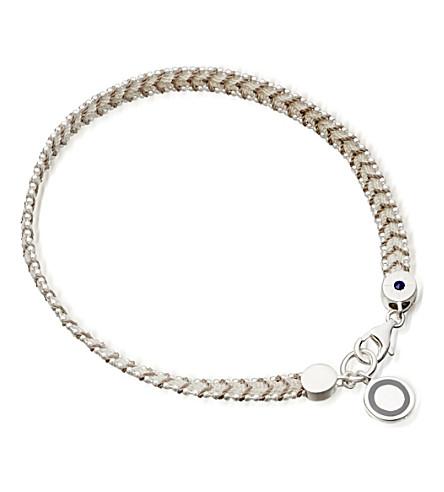 ASTLEY CLARKE Silver thundercloud cosmos stones bracelet (Silver, grey