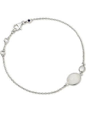 ASTLEY CLARKE Sterling silver moonstone cadenza bracelet