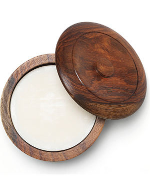 TAYLOR OF OLD BOND STREET Sandalwood shaving soap with wooden bowl