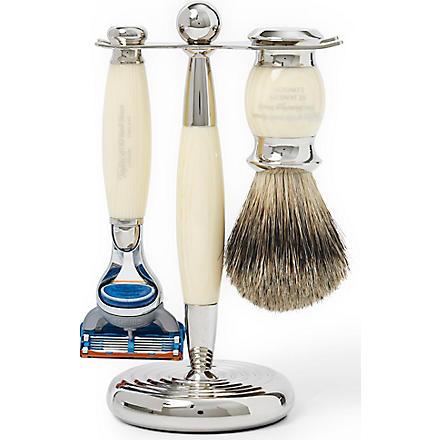 TAYLOR OF OLD BOND STREET Edwardian shaving set with Fusion razor (Imitation+ivory