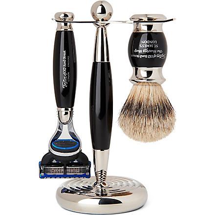 TAYLOR OF OLD BOND STREET Edwardian shaving set with Fusion razor
