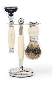 TAYLOR OF OLD BOND STREET Edwardian shaving set with Mach3 razor