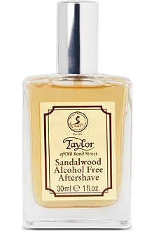 TAYLOR OF OLD BOND STREET Sandalwood luxury aftershave lotion 30ml