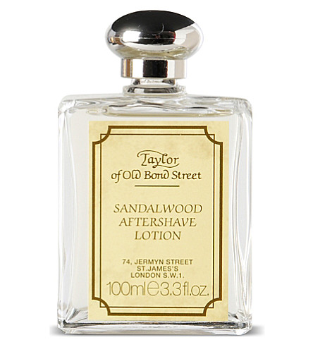 TAYLOR OF OLD BOND STREET Sandalwood cologne lotion 100ml