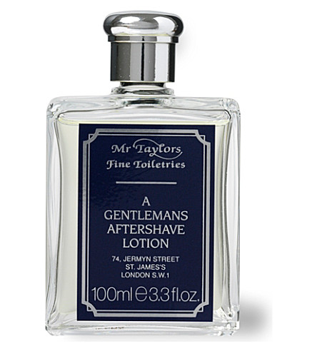 TAYLOR OF OLD BOND STREET Mr Taylor aftershave lotion 100ml (Tan