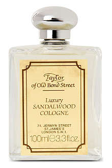 TAYLOR OF OLD BOND STREET Sandalwood luxury cologne 100ml