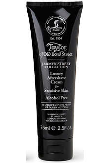 TAYLOR OF OLD BOND STREET Jermyn Street luxury aftershave cream for sensitive skin 75ml