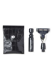 TAYLOR OF OLD BOND STREET Jermyn Street two-piece travel razor set