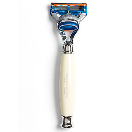 TAYLOR OF OLD BOND STREET Fusion Edwardian style razor (Imitation+ivory
