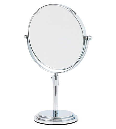 TAYLOR OF OLD BOND STREET Large adjustable chrome mirror (Chrome