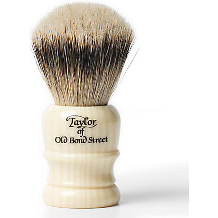TAYLOR OF OLD BOND STREET Super Badger shaving brush small (Imitation+ivory