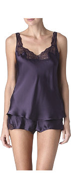 NK IMODE Silk camisole and shorts set