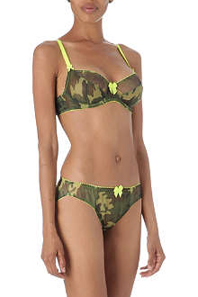 CLAUDETTE Camo full coverage bra range