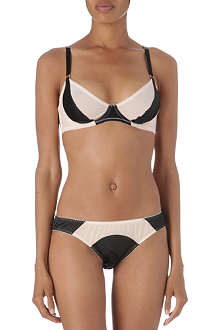 L'AGENT BY AGENT PROVOCATEUR Penelope non-padded plunge bra range