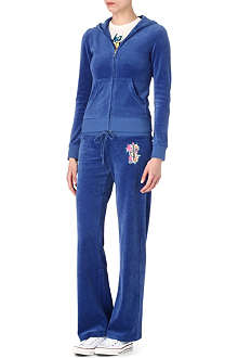 JUICY COUTURE Paradise velour tracksuit