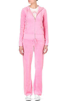 JUICY COUTURE Bardot velour tracksuit