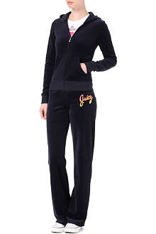 Starflower velour tracksuit
