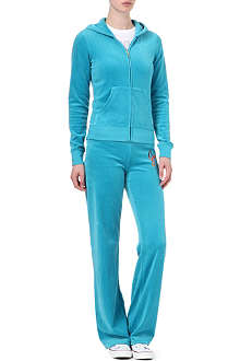 JUICY COUTURE Starflower velour tracksuit