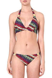 EDA Classic textured aztec bikini