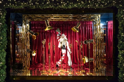 Selfridges Christmas Tree Window