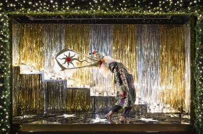 Selfridges Christmas Band Window