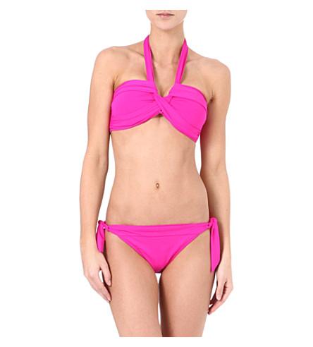 SEAFOLLY Goddess halterneck bikini