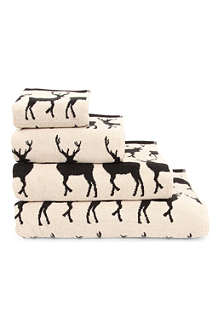 ANORAK Kissing Stags towels