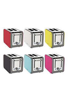 DUALIT Architect two-slice toaster with interchangable colour panels