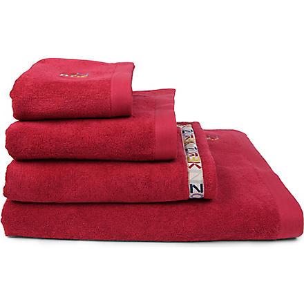 KENZO Framboise logo towels