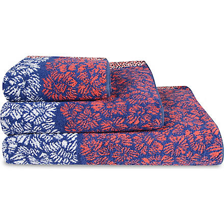KENZO Blue Bay Outremer towels