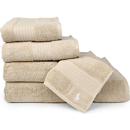RALPH LAUREN HOME Player towels dune