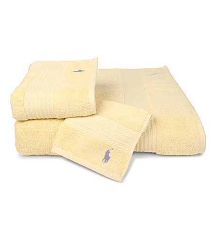 RALPH LAUREN HOME Player towels sun