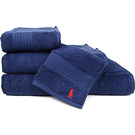 RALPH LAUREN HOME Player towels marine